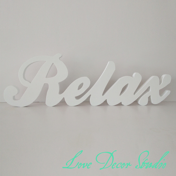 Decoration letters Custom3D Relax 3D Letters 15cm tall